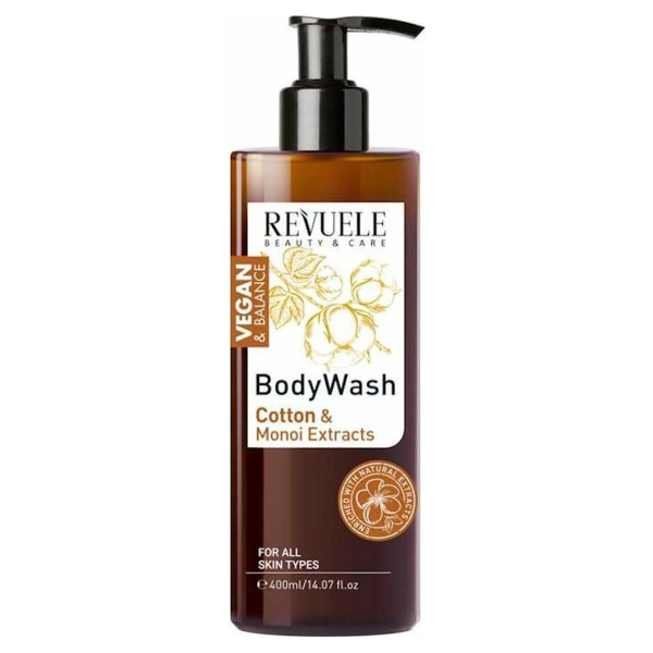 Revuele Vegan & Balance Body Wash 400ml.