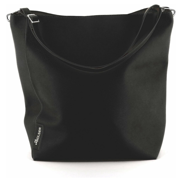 Rolser shopping bag - Vegan Bag (Black)
