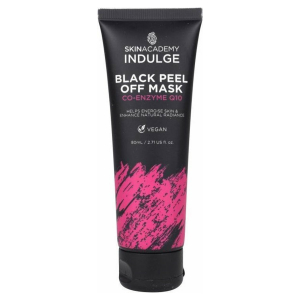 Skin Academy Indulge Black Peel off Mask - Co-Enzyme Q10
