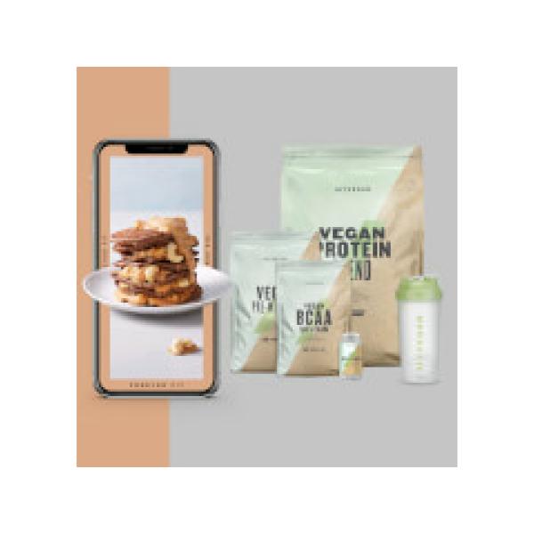 The Vegan Bundel + Gratis Training & Nutrition Guide - Lemon and Lime - Lemon Tea - Coffee and Walnut
