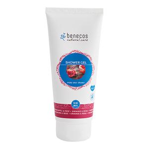 Benecos Douchegel - Granaatappel & Roos