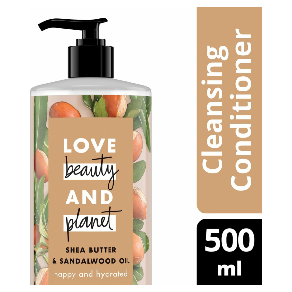 Love Beauty and Planet Conditioner Shea Butter & Sandelwood Oil - 500 ml