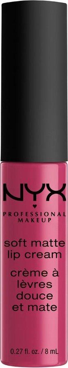 NYX PMU Professional Makeup Soft Matte Lip Cream - Prague SMLC18 - Liquid Lipstick - ml