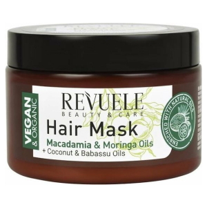 Revuele Vegan & Organic Hair Mask Macadamia & Moringa 360ml.