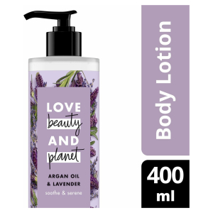 Love Beauty and Planet Bodylotion Argan Oil & Lavendel - 400 ml