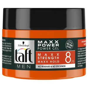 Taft Men Power Gel Maxx Power Hold 8 250 ml